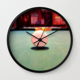 Cue Ball Wall Clock