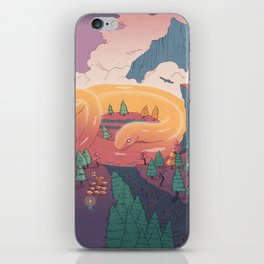 The creature of the mountain iPhone Skin