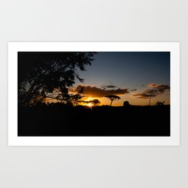 The light is fading, the heart is waining Art Print