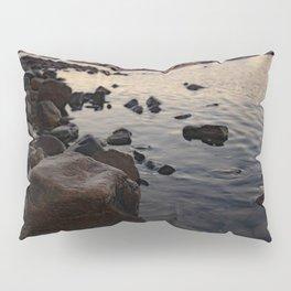 Beach Rocks at Sunset Scituate Harbor Pillow Sham