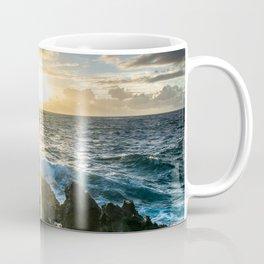 Sunrises in the East, Oahu Coffee Mug
