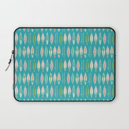 Surf Boards on Bright Blue Laptop Sleeve