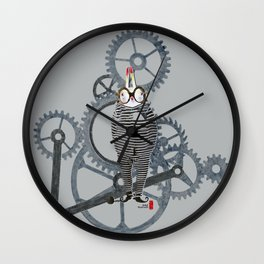 Time Cons Time Rabbit Wall Clock
