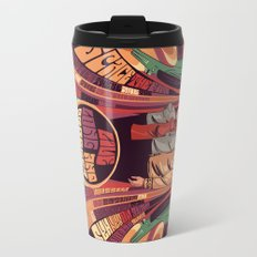 star trek psychedelic  Travel Mug
