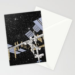 ISS- International Space Station Stationery Cards