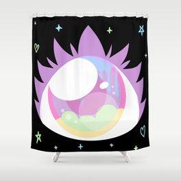 Pastel Cyclops Shower Curtain