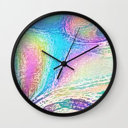 Ingrained Wall Clock