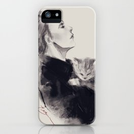 Hux and Millie II iPhone Case