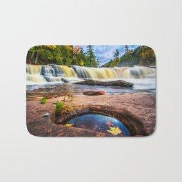 Mandio Falls - Porcupine Mountains Bath Mat