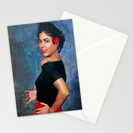 Dorothy Dandridge Ruby Sparkle Stationery Cards