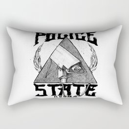 Believe the Dogma - Police State Rectangular Pillow