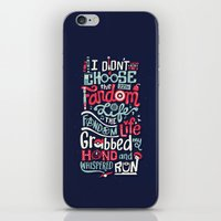 risa rodil iPhone & iPod Skins featuring Fandom Life by Risa Rodil