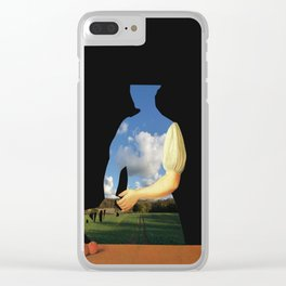 Der Apfel am Wegesrand Clear iPhone Case