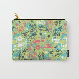 Retro Green T@b Trailers Carry-All Pouch