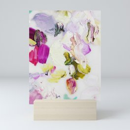 Back to Joy (Abstract Painting) Mini Art Print
