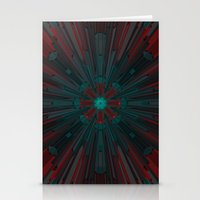 edm Stationery Cards featuring Nucleotid by Obvious Warrior