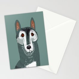 Totem Canadian wolf 1 Stationery Cards