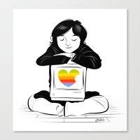 steve jobs Canvas Prints featuring Steve Jobs. by Bloglaurel