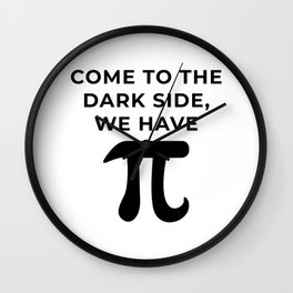 Come to the dark side, We have Pi Wall Clock