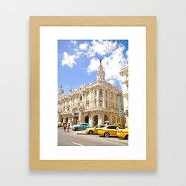 La Havana Framed Art Print