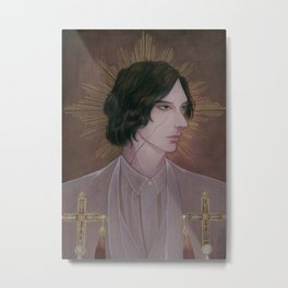 Reylo - White Bishop Metal Print