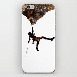 Rock Climbing  iPhone Skin