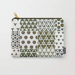 Colorful Floor Tile Collage Carry-All Pouch