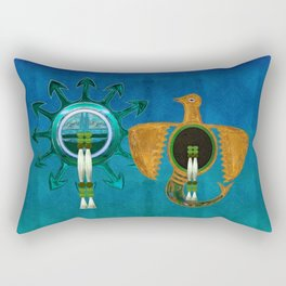 Of Sky Native American Rectangular Pillow