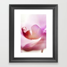 Orchid Abstract Framed Art Print