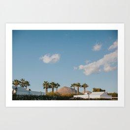 Tropical Lanzarote Art Print
