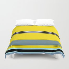 Gold pattern ( or a flat minion?) Duvet Cover
