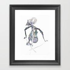 SHADOW PUPPET Framed Art Print