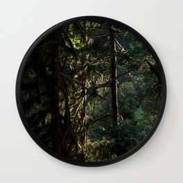 Dark Natural Necessity - Oregon Wall Clock
