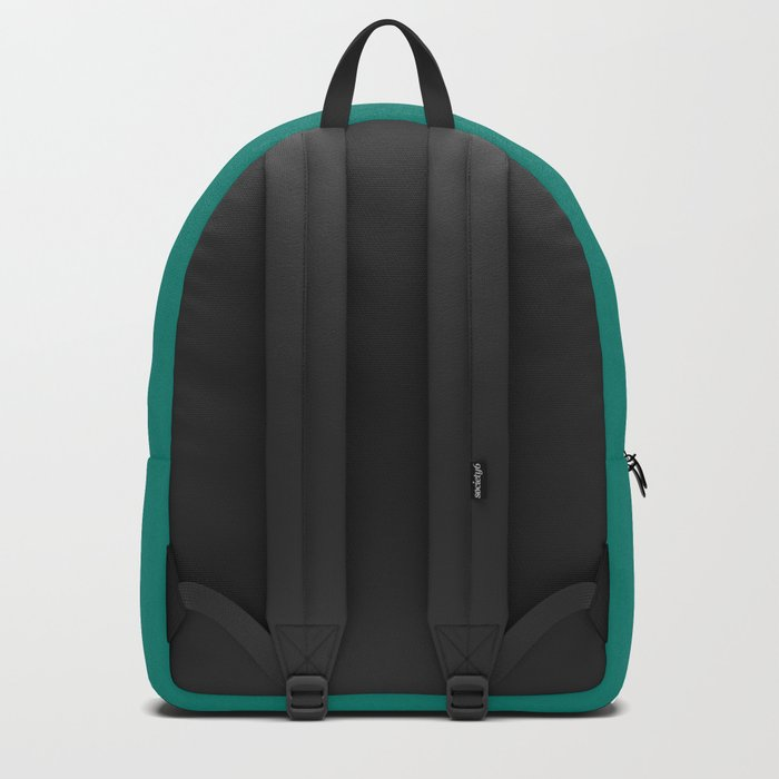 Teal and Pink Energy Heart Backpack