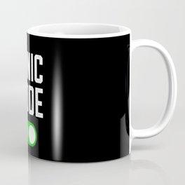 Panic Mode ON Virus Study Funny Exam Gift Coffee Mug