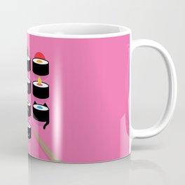 Pick yours - vibrant illustrated sushi artwork Coffee Mug