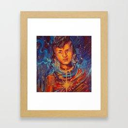 Kamon Framed Art Print