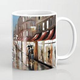 Rainy Paris Coffee Mug