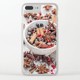 spices #society6 #decor #buyart Clear iPhone Case