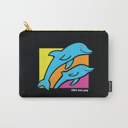 Dolphins. Carry-All Pouch