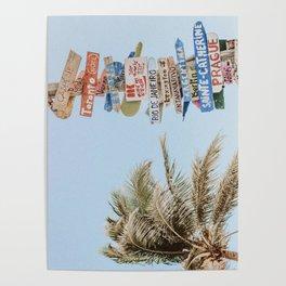 summer wanderlust Poster