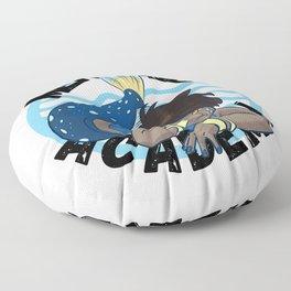 Mermaid Academy Black Mermaid Perfect Gift for Mermaid and Siren lovers Representation is Important Floor Pillow