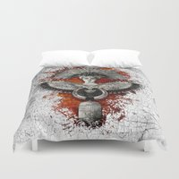 phoenix Duvet Covers featuring Phoenix by Diogo Verissimo