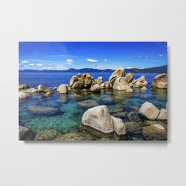 Stones at Tahoe  Metal Print