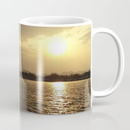 Sunset On The River Kwai Coffee Mug