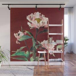 Ogawa Kazumasa - Japanese Flowers Wall Mural