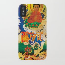 Sun Wukong Confronts Buddha iPhone Case