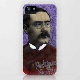 Rudyard Kipling iPhone Case