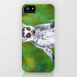 Maky - Ring Tailed Lemur iPhone Case