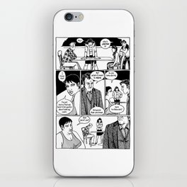 Johnny Public chapter 10, page 22 iPhone Skin